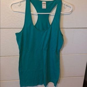 BLUE TANK TOP FROM PINK VICTORIAS SECRET